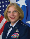 Major General Betty Lee Terry Mullis 2007 Alumni Of The Plains